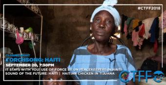 20 SEPTEMBER 8:45PM - AWARDS & CLOSING NIGHT - TORCHSONG: HAITI