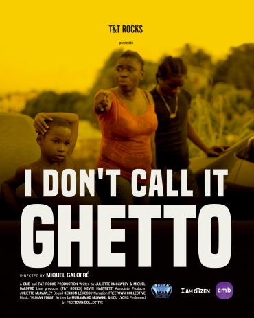 I Don't Call It Ghetto